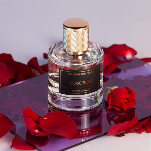Perfume Musc Rose in a beautiful bottle