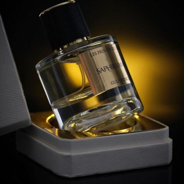 Photo du parfum saphir Vanille des Princes du Golfe