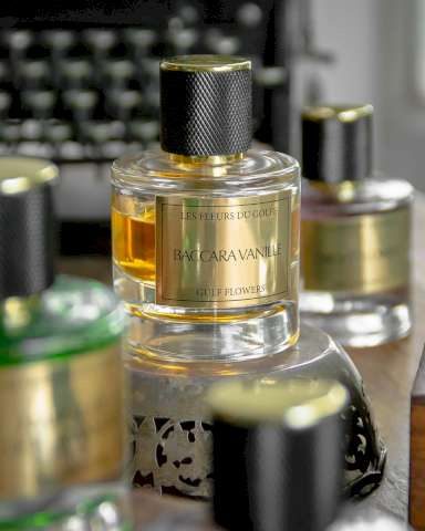 Une photo illustrative du parfum Baccara Vanille.
